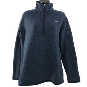 Patagonia Better Sweater 1/4-Zip Fleece Blue Large